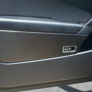 Neffy CF wrapped door panel